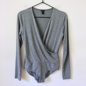 Jcrew Wrap bodysuit